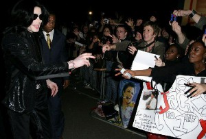 Michael and fans