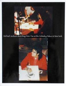 michael-jackson-stetching-peter-pan-at-the-helmsley-palace-new-york