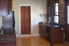Boston loft kitchen complete make over