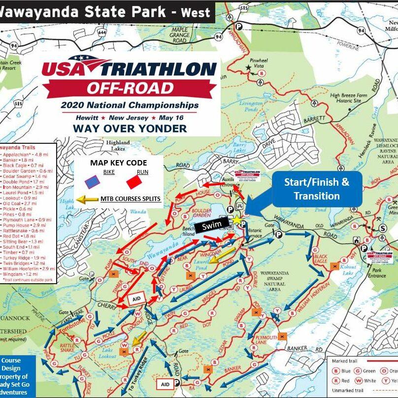 2020 USA Tri Off Road Nationals Map V1