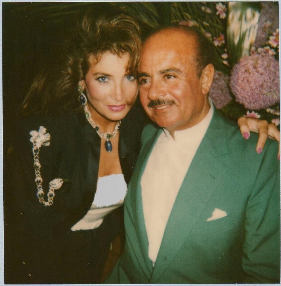 Adnan Khashoggi and Lamia Khashoggi