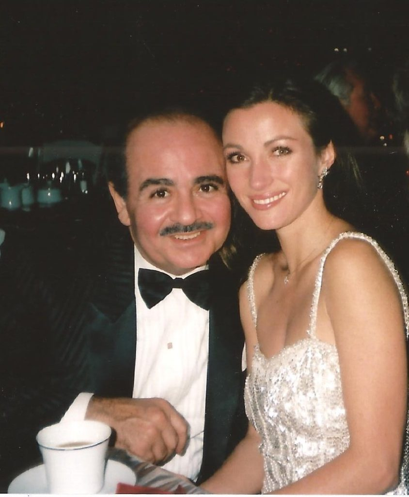 Adnan Khashoggi and Jane Seymour