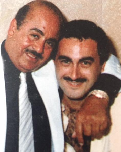 Adnan Khashoggi and nephew Dodi Fayed