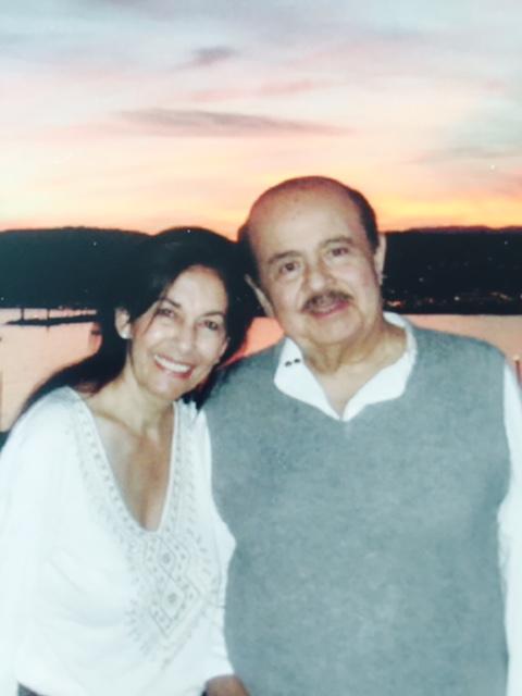 Adnan Khashoggi and sister Soheir Khashoggi