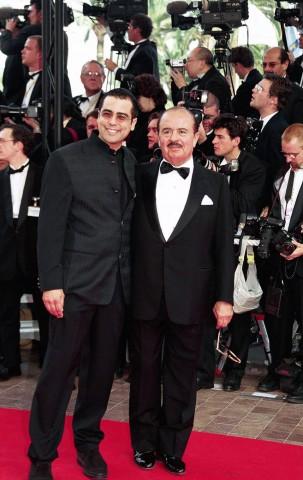 Adnan Khashoggi and son Hussein Khashoggi