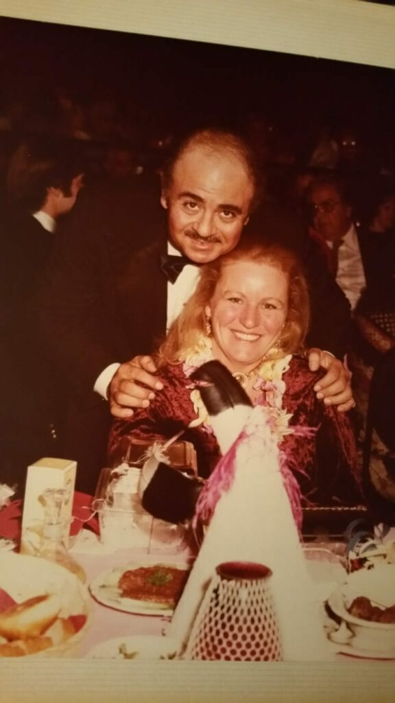 Adnan Khashoggi and Nanny Sue