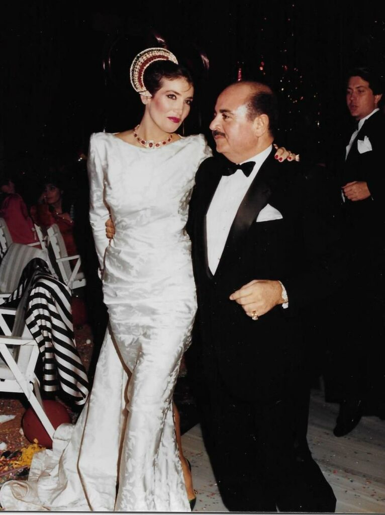 Adnan Khashoggi and Lamia