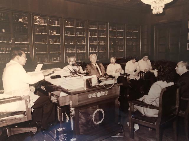 Adnan Khashoggi, Phillipines President Ferdinand Marcos, and Nabila Khashoggi