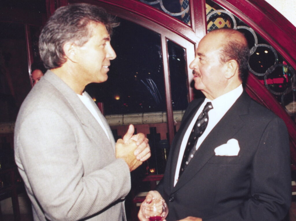 Adnan Khashoggi and Steve Wynn