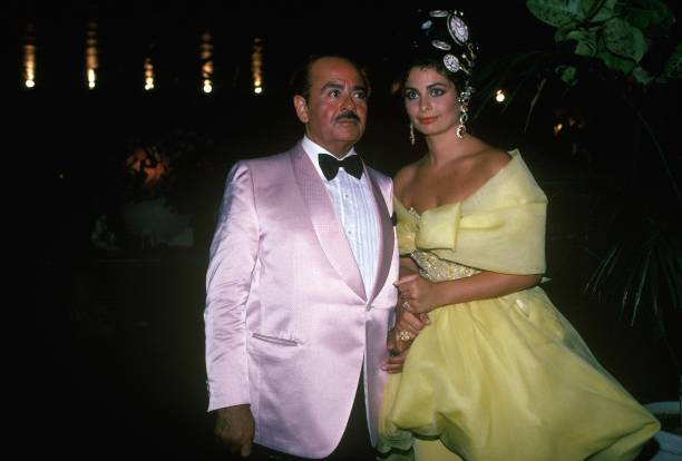 Adnan Khashoggi and Nabila Khashoggi