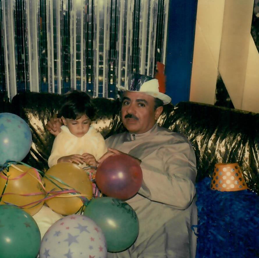 Adnan Khashoggi and son Ali Khashoggi