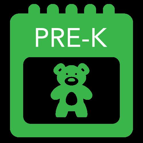 Pre-K School Calendar