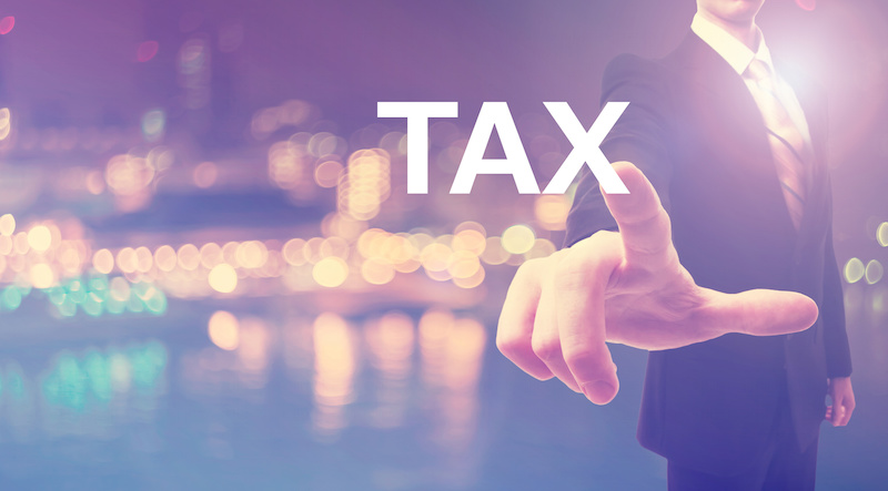 How does tax proration work at a real estate closing?