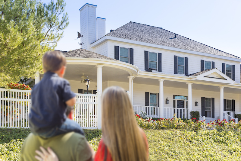 What happens to a house when the owner dies and there are no heirs?