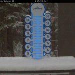 Loveland Ski Area Snow Stake