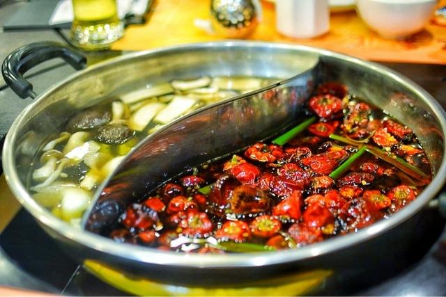SAN XI LOU Hot Pot and Sichuan Restaurant Mid Levels Hong Kong