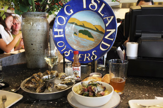HOG ISLAND OYSTER CO. San Francisco, CA