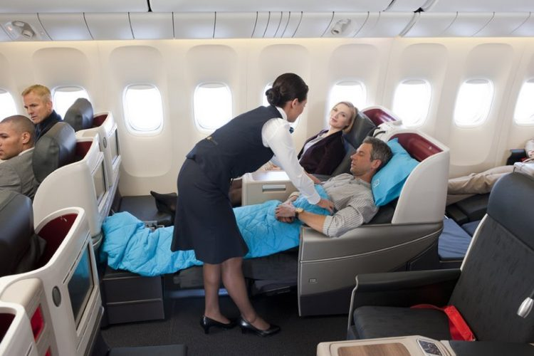 TURKISH AIRLINES BUSINESS CLASS TO LONDON