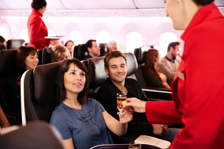 VIRGIN ATLANTIC'S PREMIUM EXPERIENCE FROM HONG KONG TO LONDON HEATHROW