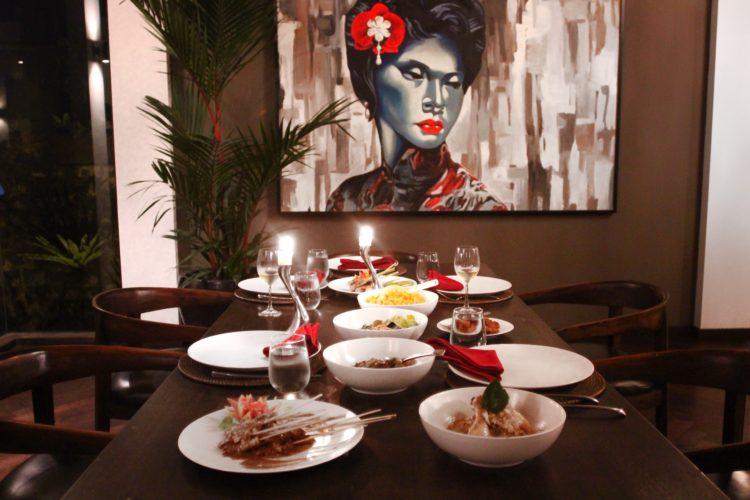 IN-VILLA DINING Villa Naga Putih Bali