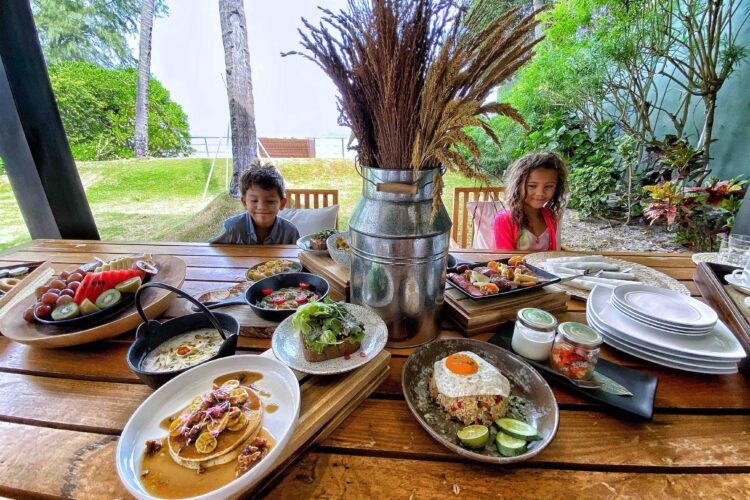 In-Villa Breakfast at Nikki Beach Resort Koh Samui