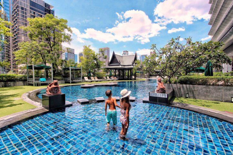 THE ATHENEE HOTEL, BANGKOK