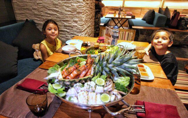 SEAFOOD BBQ BUFFET AT OASIS Centara Grand Mirage Beach Resort Pattaya