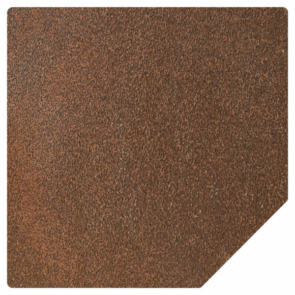 Ember King cocoa vein corner hearth pad