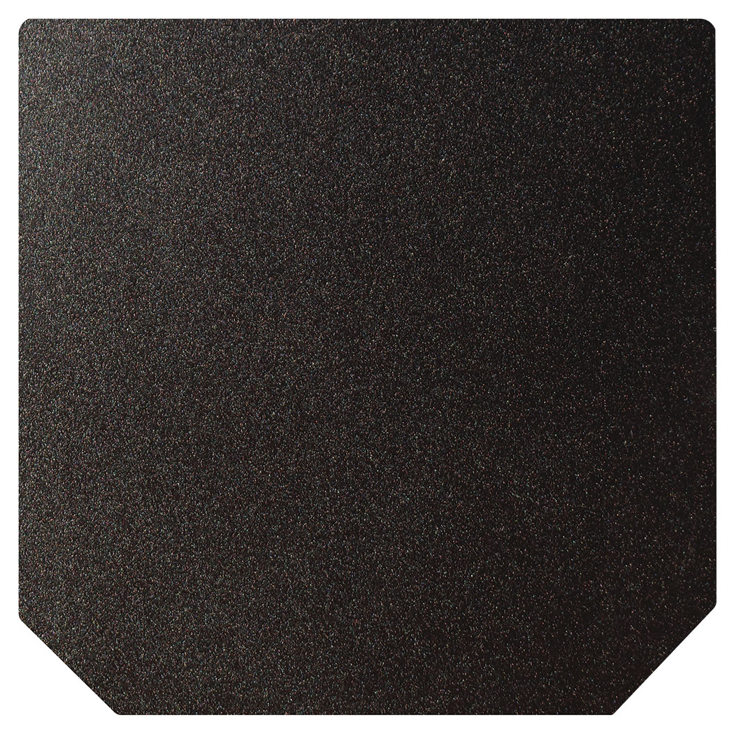 Ember King textured black standard hearth pad