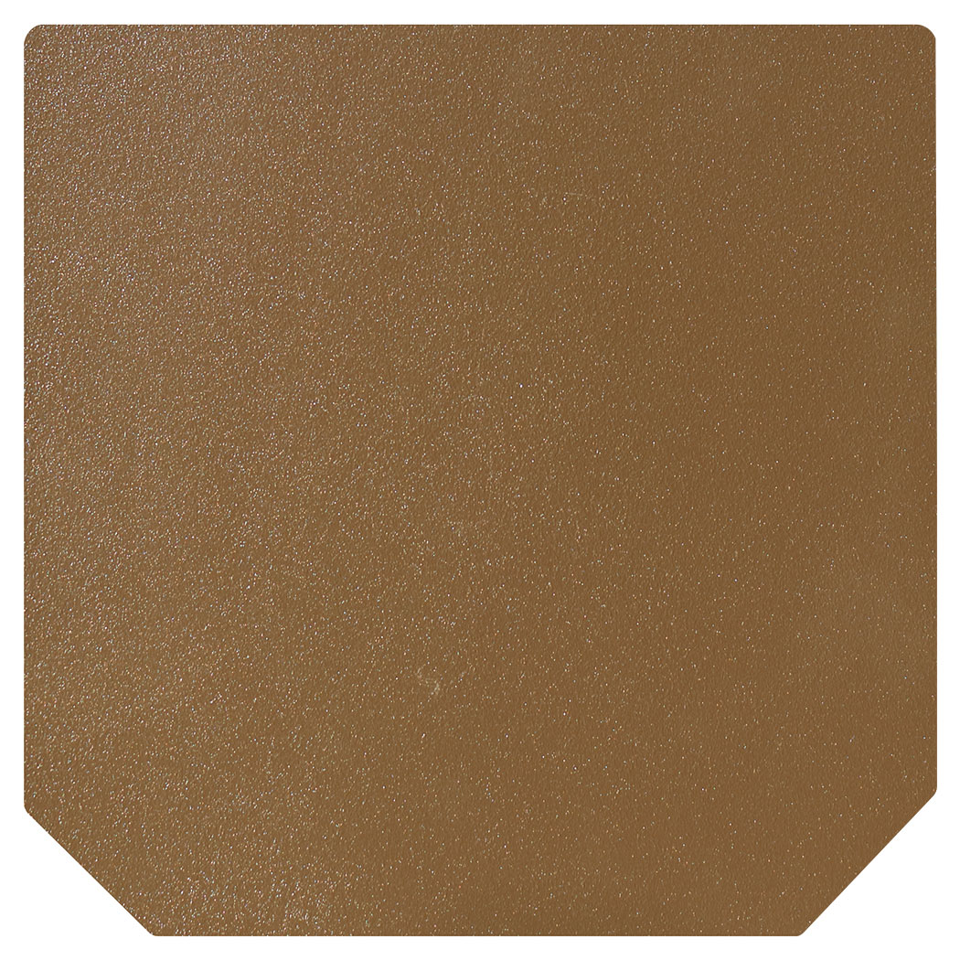 Ember King textured bronze standard hearth pad