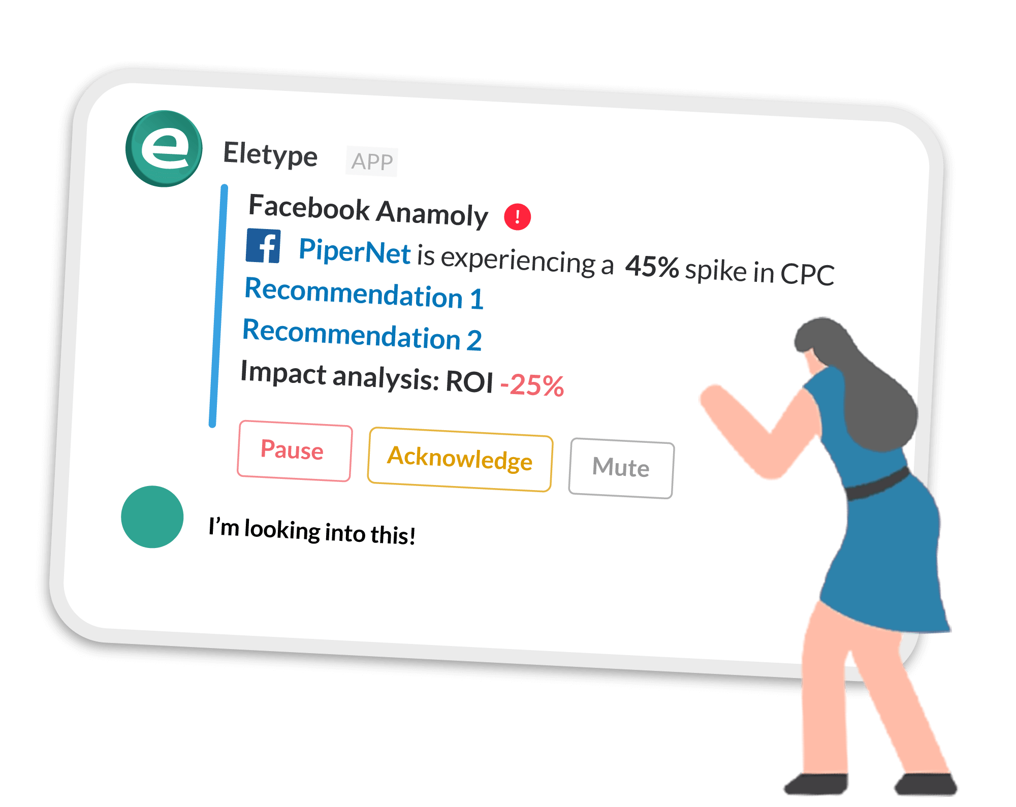 marketing monitoring with Eletype