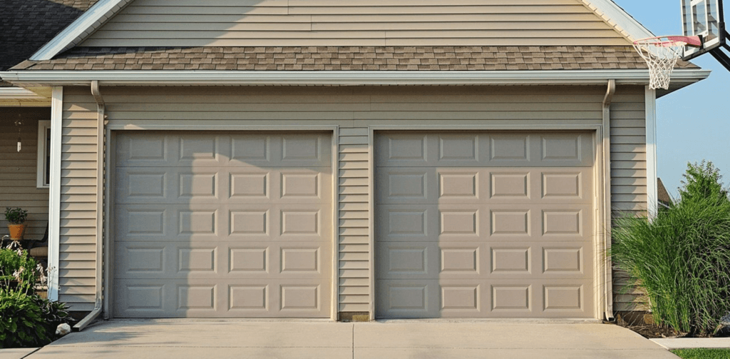 Basic Raised Panel Garage Door