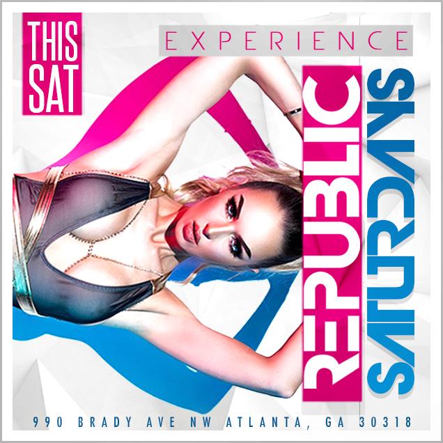 Sexy Saturday Nights Atlanta - Atlanta Nightlife | Republic Lounge