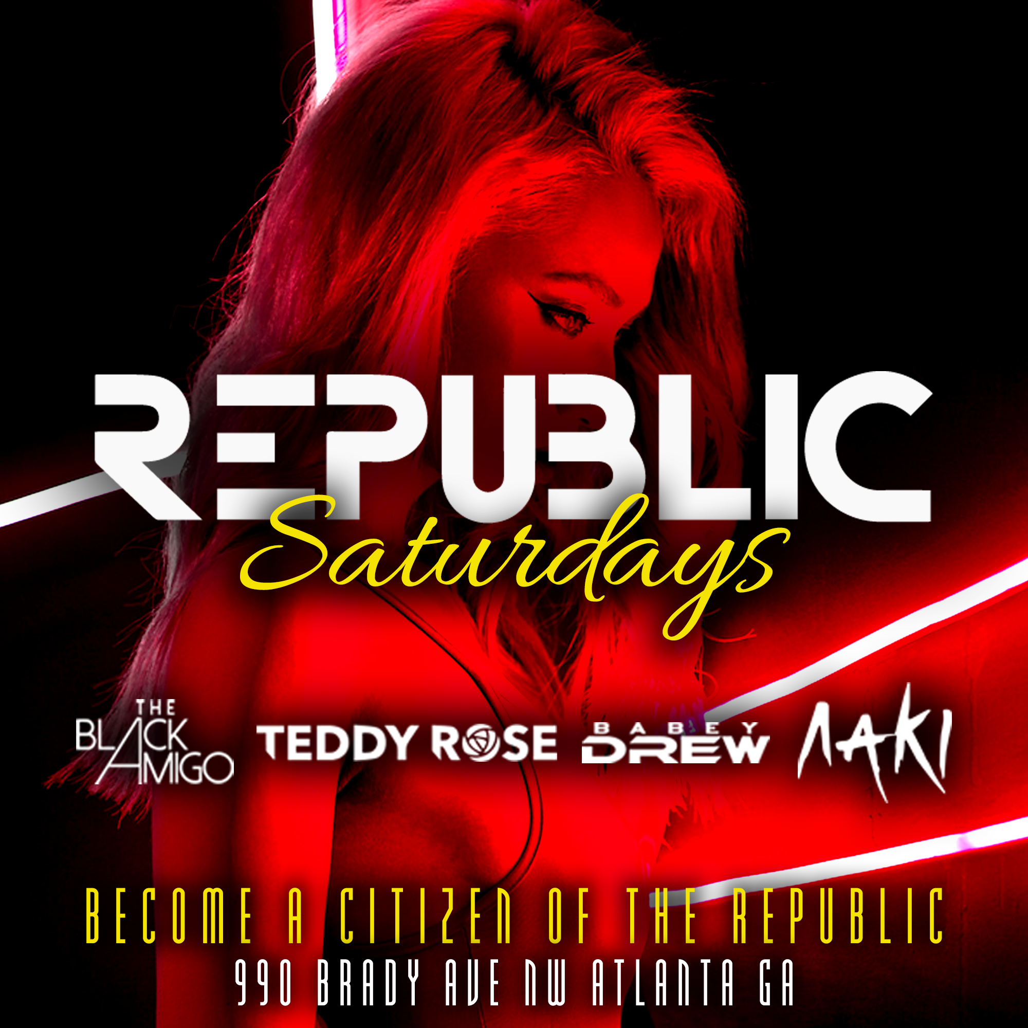 Sexy Saturdays @ Republic Lounge 4.06