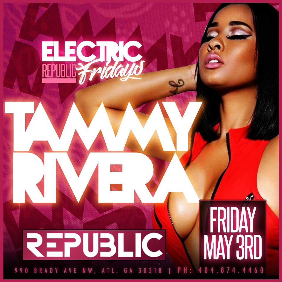 Electric Fridays @ Republic Lounge 05.03