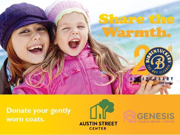 Bibbentuckers invites customers to donate gently worn coats