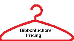Bibbentuckers Dry Cleaning Pricing