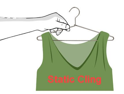 Preventing Static Cling on Your Clothes