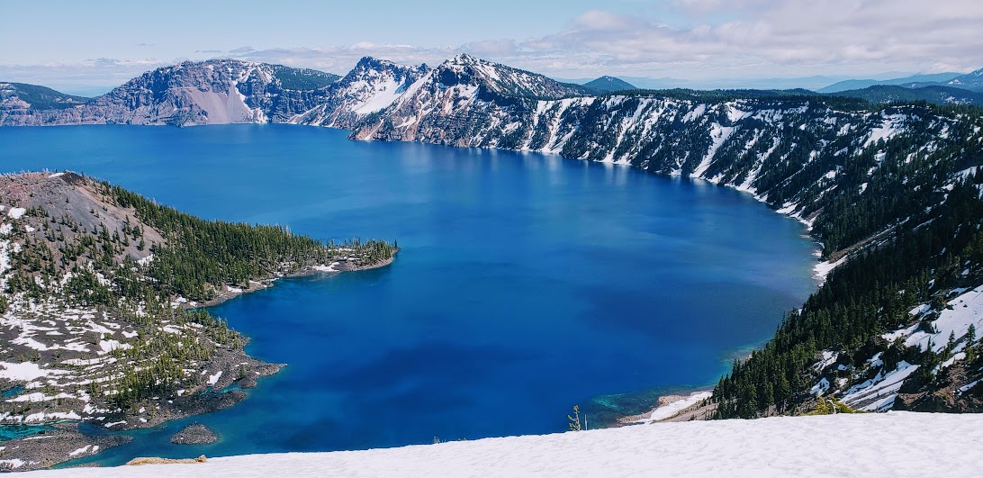 Crater Lake National Park -Yes it is really that blue!