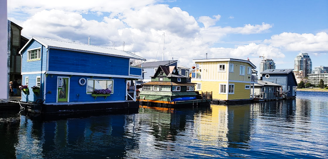 Float Homes in Victoria BC