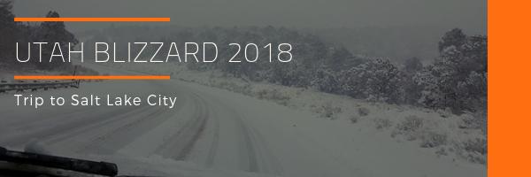 Utah Blizzard 2018 Photo Gallery