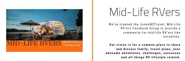 Mid-Life RVers Community on Facebook