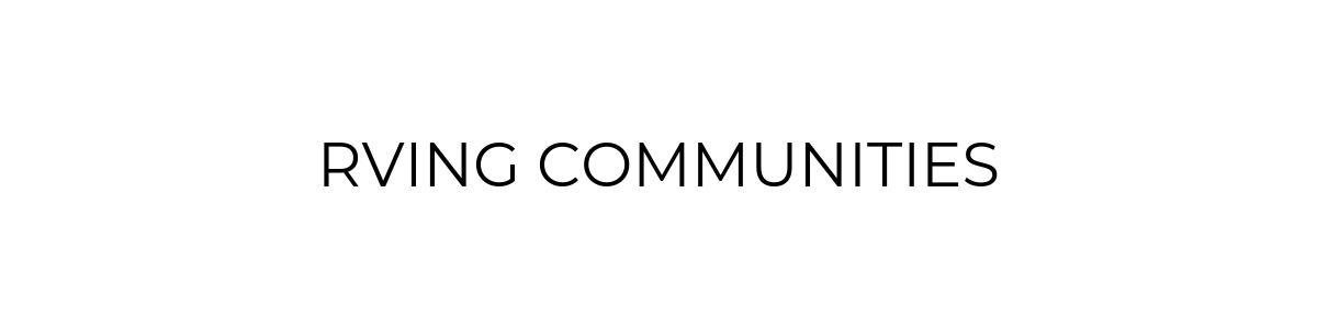 RV Communities