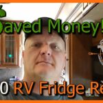 How to Repair Norcold RV Refrigerator Hinge