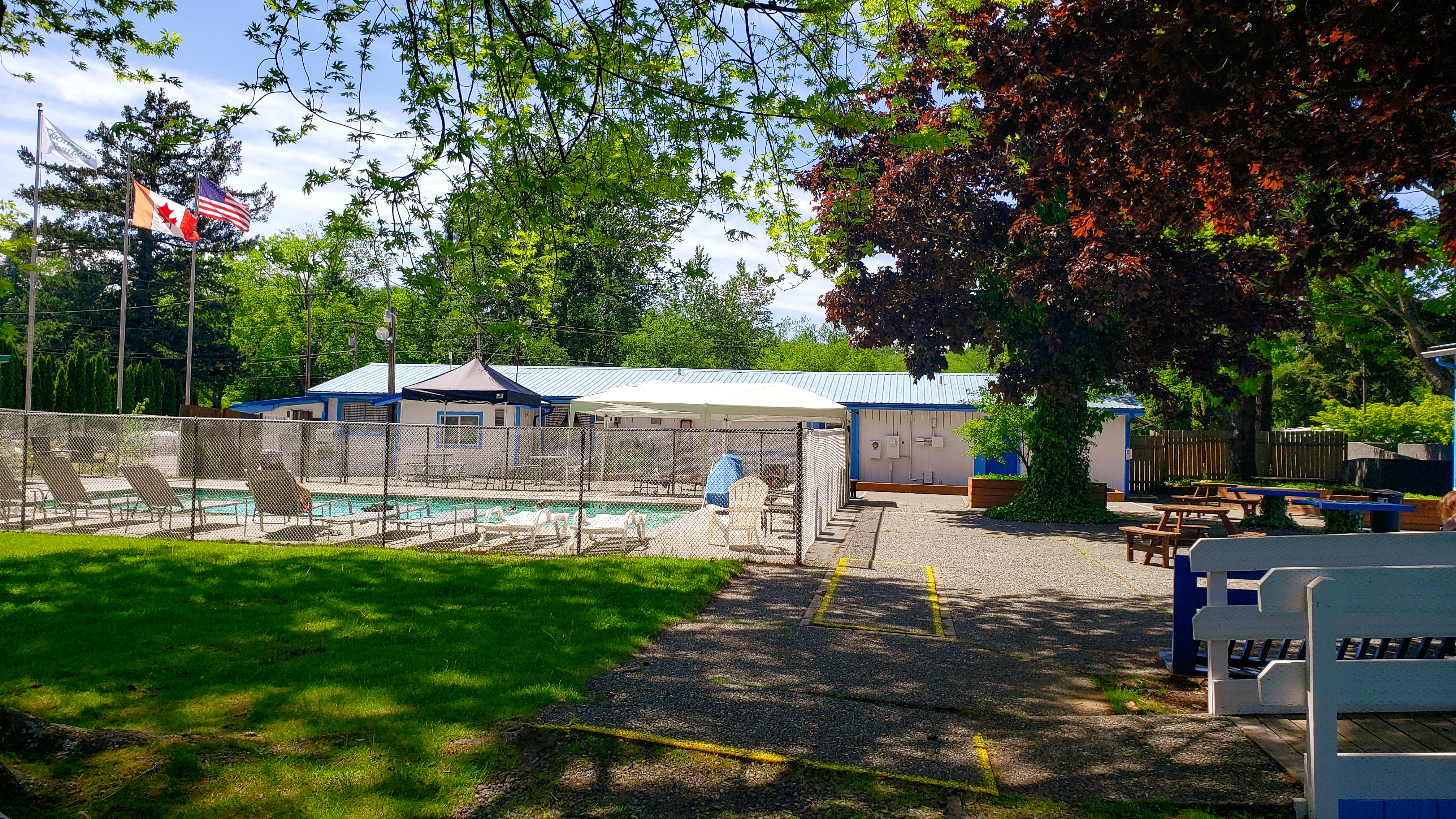 Pool at Birch Bay RV Campground, Thousand Trails