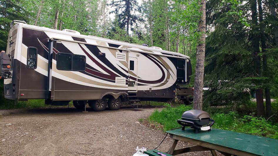 Yukon River Campground