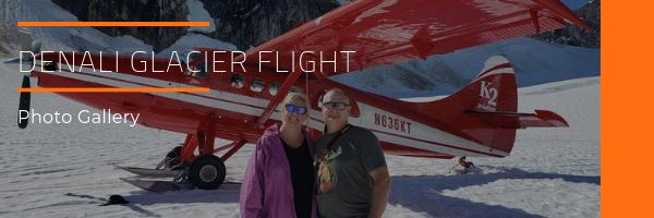 Denali Glacier Flight