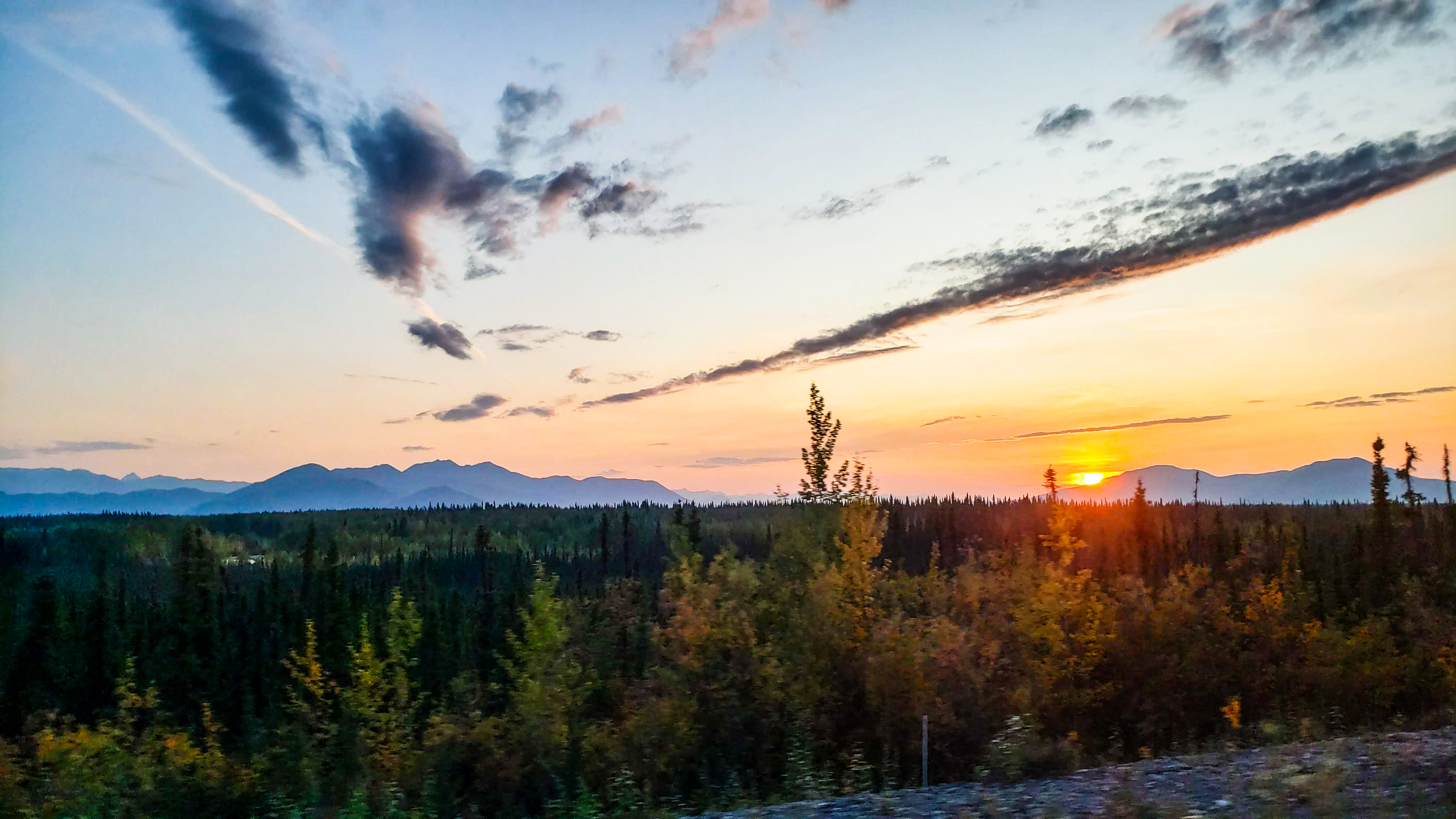 Our last Alaska Sunset