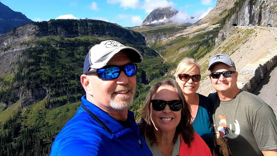 Glacier National Park | Meeting up with Friends