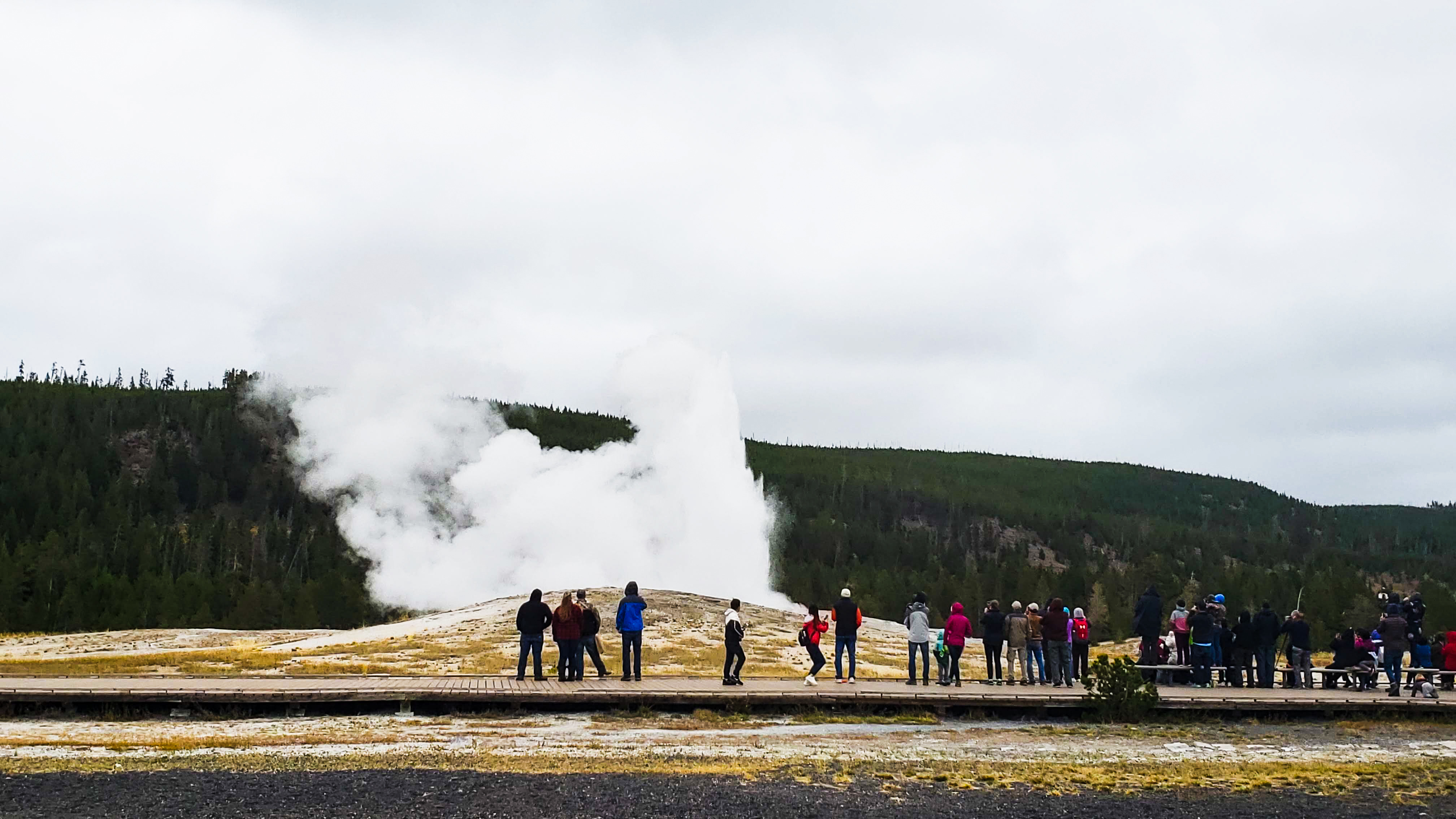 Yellowstone National Park | Old Faithful in 4K Video